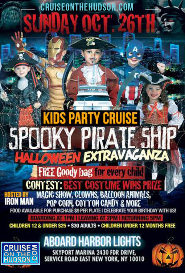 New York Kids Halloween Cruise NYC Kids Cruise