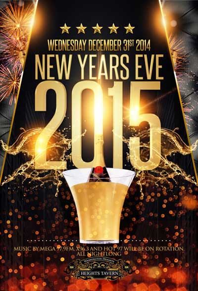 Heights Tavern NYC New Years Eve Washington Heights